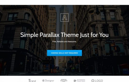 parallax-one-theme