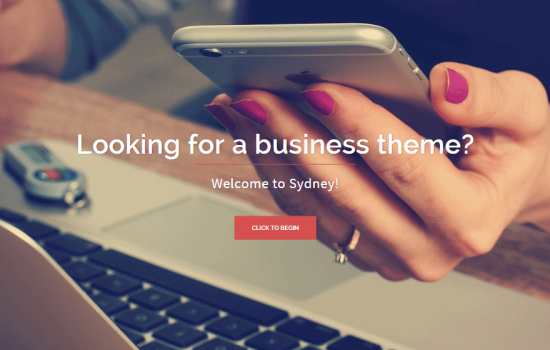 sydney-wordpress-theme