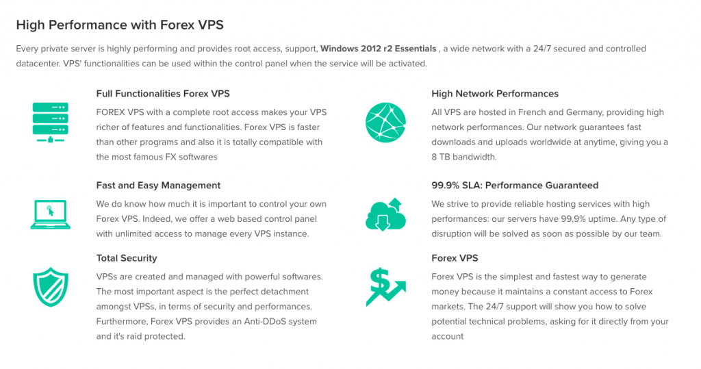 best forex vps hosting