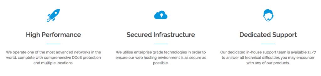 austenite hosting